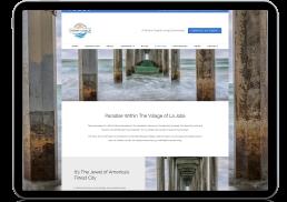 Chateau La Jolla Branding Project Responsive Website Design