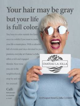 San Diego Jewish Journal Ad for Chateau La Jolla Retirement Community