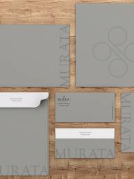 Murata Eyecare Optometry Branding Project Stationary System