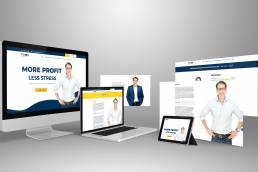 Personal Branding Website Impact Leadership